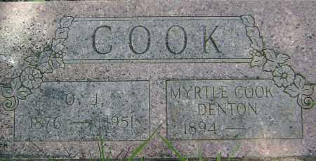 COOK, MYRTLE M. - Sharp County, Arkansas | MYRTLE M. COOK - Arkansas Gravestone Photos