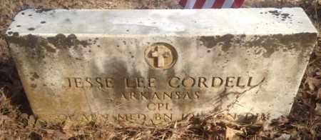 CORDELL (VETERAN KOR), JESSE LEE - Sharp County, Arkansas | JESSE LEE CORDELL (VETERAN KOR) - Arkansas Gravestone Photos