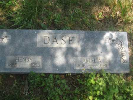 DASE, AMALIA - Sharp County, Arkansas | AMALIA DASE - Arkansas Gravestone Photos