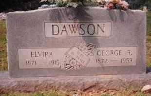JOHNSON DAWSON, ELVIRA - Sharp County, Arkansas   ELVIRA JOHNSON DAWSON - Arkansas Gravestone Photos