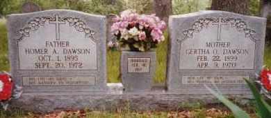 DAWSON, GERTHA ELLANORA - Sharp County, Arkansas | GERTHA ELLANORA DAWSON - Arkansas Gravestone Photos