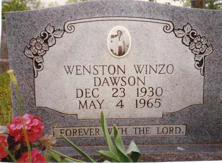 DAWSON, WENSTON WINZO - Sharp County, Arkansas | WENSTON WINZO DAWSON - Arkansas Gravestone Photos