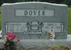 MORGAN DOVER, JOHNETA JUNE - Sharp County, Arkansas | JOHNETA JUNE MORGAN DOVER - Arkansas Gravestone Photos