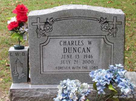 DUNCAN, CHARLES WILLIAM - Sharp County, Arkansas   CHARLES WILLIAM DUNCAN - Arkansas Gravestone Photos