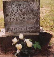 DUNCAN, DAVID G. - Sharp County, Arkansas | DAVID G. DUNCAN - Arkansas Gravestone Photos