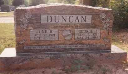 DUNCAN, JUNE BERNELL - Sharp County, Arkansas | JUNE BERNELL DUNCAN - Arkansas Gravestone Photos
