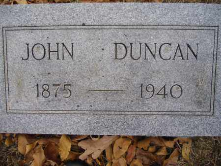 DUNCAN, JOHN - Sharp County, Arkansas | JOHN DUNCAN - Arkansas Gravestone Photos