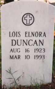 DUNCAN, LOIS ELNORA - Sharp County, Arkansas   LOIS ELNORA DUNCAN - Arkansas Gravestone Photos