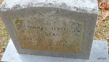 DUNCAN, THOMAS JEWELL - Sharp County, Arkansas | THOMAS JEWELL DUNCAN - Arkansas Gravestone Photos