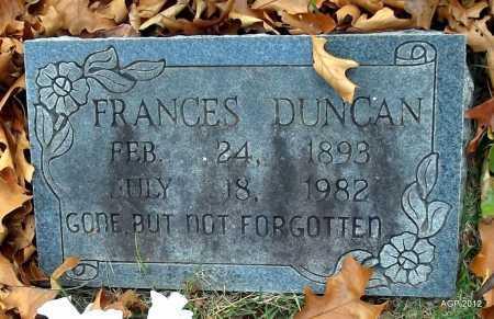 DUNCAN, MARGARET FRANCES - Sharp County, Arkansas   MARGARET FRANCES DUNCAN - Arkansas Gravestone Photos