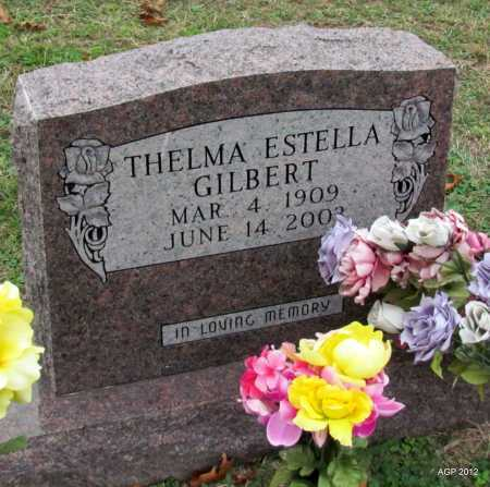 GILBERT, THELMA ESTELLA - Sharp County, Arkansas   THELMA ESTELLA GILBERT - Arkansas Gravestone Photos