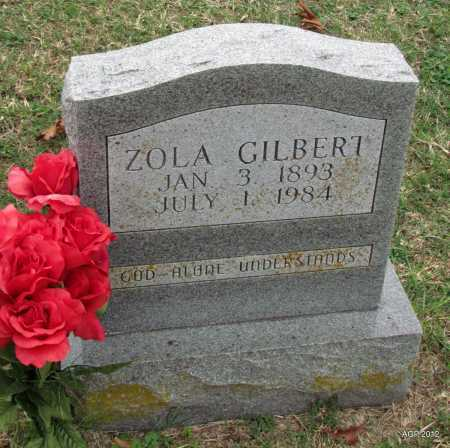 GILBERT, ZOLA - Sharp County, Arkansas | ZOLA GILBERT - Arkansas Gravestone Photos