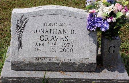 GRAVES, JONATHAN D. - Sharp County, Arkansas   JONATHAN D. GRAVES - Arkansas Gravestone Photos