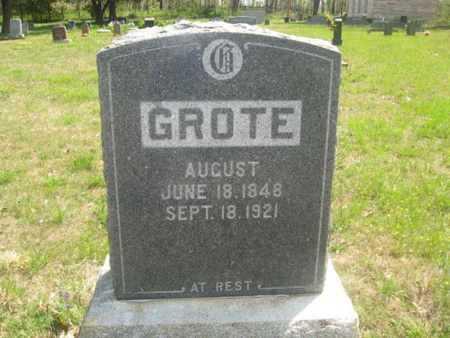 GROTE, AUGUST - Sharp County, Arkansas | AUGUST GROTE - Arkansas Gravestone Photos