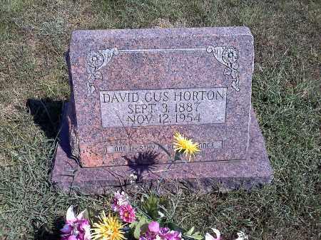 HORTON, DAVID GUS - Sharp County, Arkansas | DAVID GUS HORTON - Arkansas Gravestone Photos