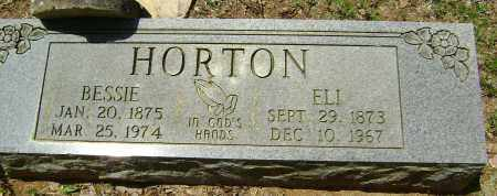 "HORTON, SARAH ELIZABETH ""BESSIE"" - Sharp County, Arkansas | SARAH ELIZABETH ""BESSIE"" HORTON - Arkansas Gravestone Photos"