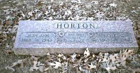 "HORTON, JULIA ANN ""JUDY"" - Sharp County, Arkansas | JULIA ANN ""JUDY"" HORTON - Arkansas Gravestone Photos"
