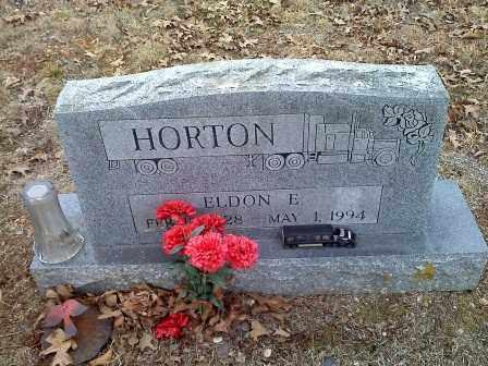 HORTON, ELDON E - Sharp County, Arkansas   ELDON E HORTON - Arkansas Gravestone Photos