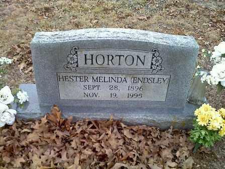 HORTON, HESTER MELINDA - Sharp County, Arkansas   HESTER MELINDA HORTON - Arkansas Gravestone Photos