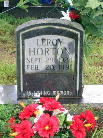 HORTON, LEROY - Sharp County, Arkansas | LEROY HORTON - Arkansas Gravestone Photos