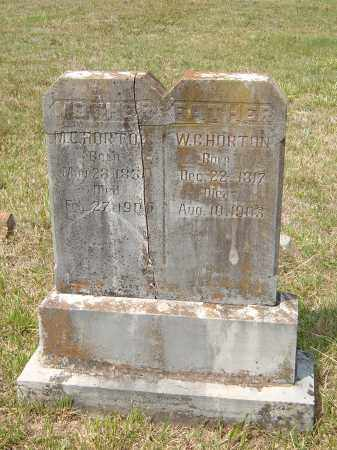 HORTON, MALINDA CATHERINE LAVENIA JANE FOWLER CROSSER - Sharp County, Arkansas | MALINDA CATHERINE LAVENIA JANE FOWLER CROSSER HORTON - Arkansas Gravestone Photos