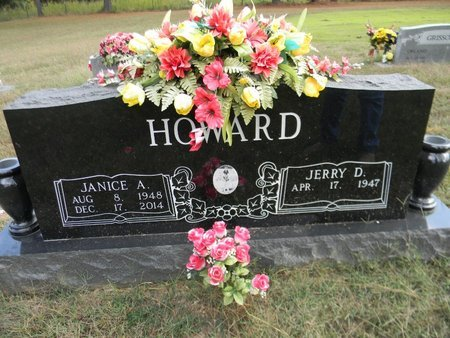 GARNER HOWARD, JANICE ANITA - Sharp County, Arkansas   JANICE ANITA GARNER HOWARD - Arkansas Gravestone Photos