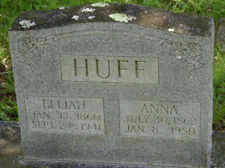 GRAHAM HUFF, ANNA - Sharp County, Arkansas | ANNA GRAHAM HUFF - Arkansas Gravestone Photos