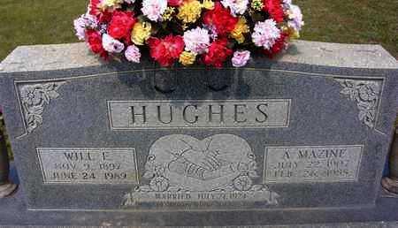 YATES HUGHES, ALMA MAZINE - Sharp County, Arkansas | ALMA MAZINE YATES HUGHES - Arkansas Gravestone Photos