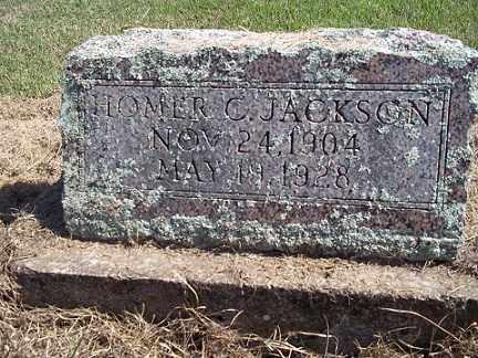 JACKSON, HOMER C - Sharp County, Arkansas | HOMER C JACKSON - Arkansas Gravestone Photos