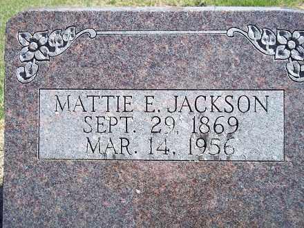 COPE JACKSON, MATTIE E - Sharp County, Arkansas   MATTIE E COPE JACKSON - Arkansas Gravestone Photos