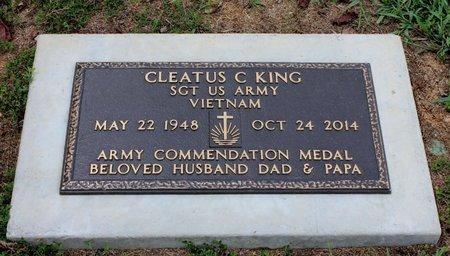 KING (VETERAN VIET), CLEATUS C. - Sharp County, Arkansas | CLEATUS C. KING (VETERAN VIET) - Arkansas Gravestone Photos