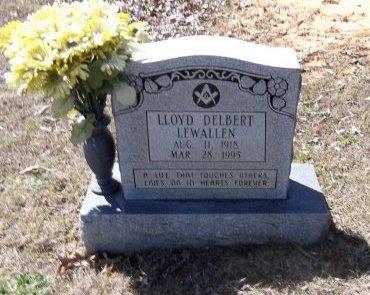LEWALLEN, LLOYD DELBERT - Sharp County, Arkansas | LLOYD DELBERT LEWALLEN - Arkansas Gravestone Photos