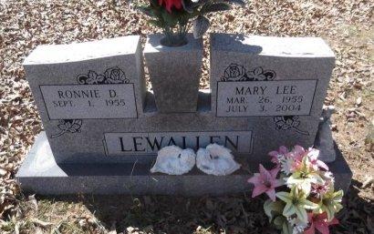 HIX LEWALLEN, MARY LEE - Sharp County, Arkansas | MARY LEE HIX LEWALLEN - Arkansas Gravestone Photos