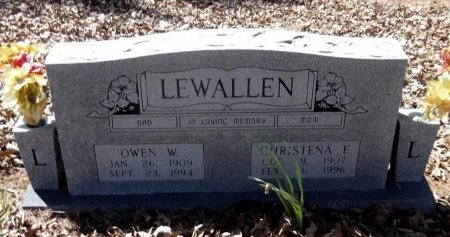 LEWALLEN, CHRISTENA E - Sharp County, Arkansas | CHRISTENA E LEWALLEN - Arkansas Gravestone Photos