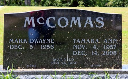 MCCOMAS, TAMARA ANN - Sharp County, Arkansas | TAMARA ANN MCCOMAS - Arkansas Gravestone Photos