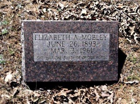 MOBLEY, ELIZABETH A - Sharp County, Arkansas   ELIZABETH A MOBLEY - Arkansas Gravestone Photos