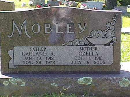 MOBLEY, GARLAND R. - Sharp County, Arkansas | GARLAND R. MOBLEY - Arkansas Gravestone Photos