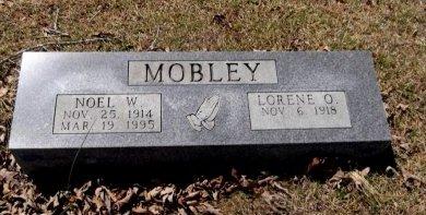 MOBLEY, NOEL W - Sharp County, Arkansas | NOEL W MOBLEY - Arkansas Gravestone Photos