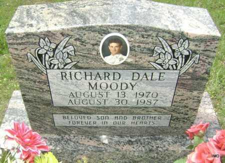 MOODY, RICHARD DALE - Sharp County, Arkansas | RICHARD DALE MOODY - Arkansas Gravestone Photos