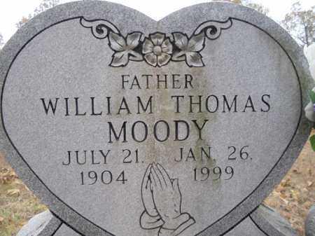 MOODY, WILLIAM THOMAS - Sharp County, Arkansas   WILLIAM THOMAS MOODY - Arkansas Gravestone Photos