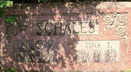 SCHALES, TINA T. - Sharp County, Arkansas | TINA T. SCHALES - Arkansas Gravestone Photos