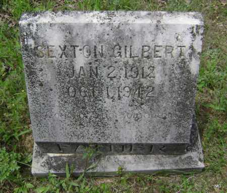 GILBERT, SEXTON - Sharp County, Arkansas | SEXTON GILBERT - Arkansas Gravestone Photos