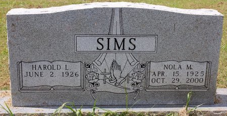 DENNY SIMS, NOLA MARIE - Sharp County, Arkansas | NOLA MARIE DENNY SIMS - Arkansas Gravestone Photos