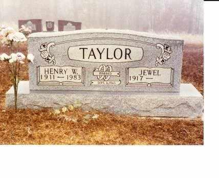 TAYLOR, HENRY W - Sharp County, Arkansas   HENRY W TAYLOR - Arkansas Gravestone Photos