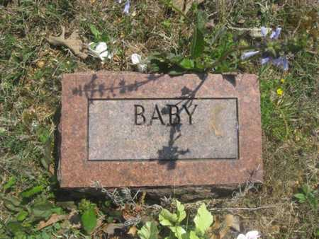 UNKNOWN, BABY - Sharp County, Arkansas | BABY UNKNOWN - Arkansas Gravestone Photos