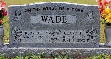WADE, CLARA F. - Sharp County, Arkansas | CLARA F. WADE - Arkansas Gravestone Photos
