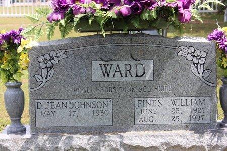 WARD, FINES WILLIAM - Sharp County, Arkansas | FINES WILLIAM WARD - Arkansas Gravestone Photos