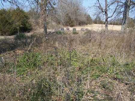 *WARE CEMETERY OVERVIEW,  - Sharp County, Arkansas |  *WARE CEMETERY OVERVIEW - Arkansas Gravestone Photos