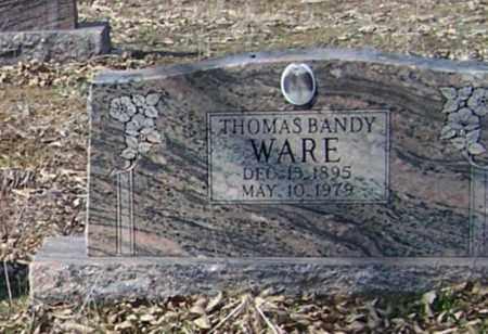 WARE, THOMAS BANDY - Sharp County, Arkansas | THOMAS BANDY WARE - Arkansas Gravestone Photos