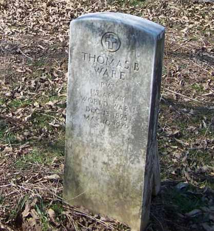 WARE (VETERAN WWI), THOMAS BANDY - Sharp County, Arkansas | THOMAS BANDY WARE (VETERAN WWI) - Arkansas Gravestone Photos